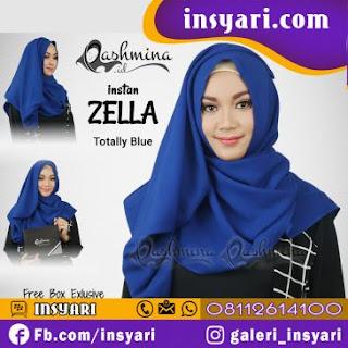 Tampil Cantik dengan Model Hijab Pashmina Instan Terbaru