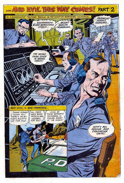 Captain Action v1 #3 dc 1960s silver age comic page art by Wally Wood