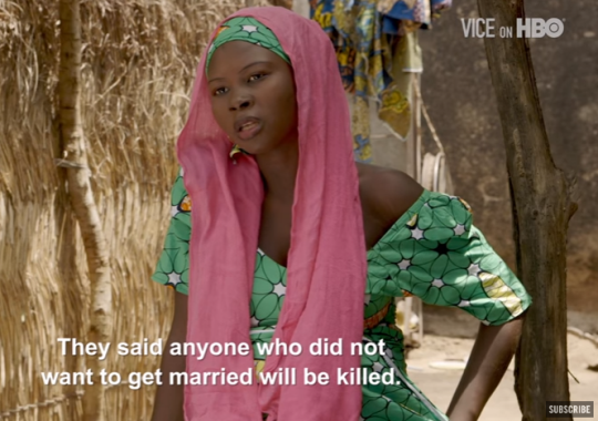 """Video: """"I can't kill my child"""" 16-year-old Zainab Isah, impregnated while in Boko Haram captivity speaks out"""