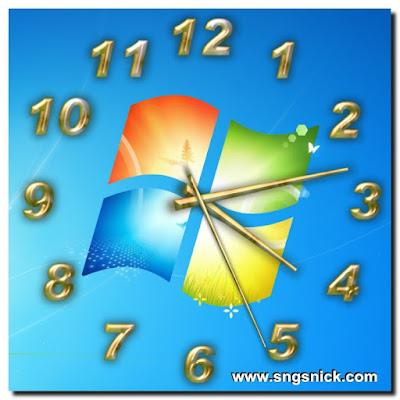 TheAeroClock - Пример вида часов