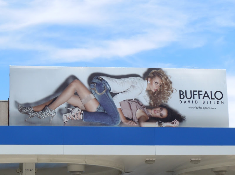 Buffalo Jeans billboard