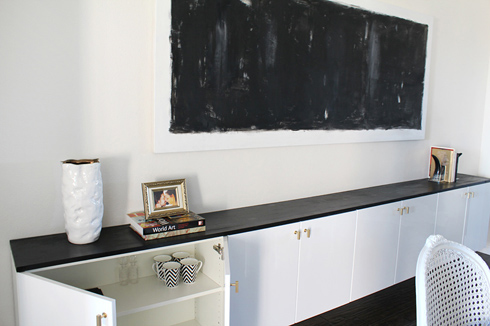 Floating Cabinets Are Done Made By Girl