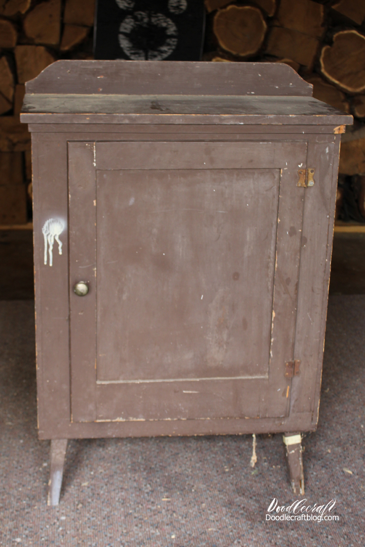 doodlecraft diy shabby chic furniture cabinet. Black Bedroom Furniture Sets. Home Design Ideas