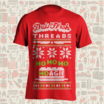 Holiday Hoagie T-Shirt by Deli Fresh Threads