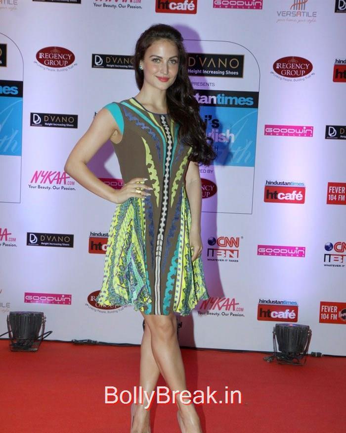 Elli Avram, Mumbai's Most Stylish Awards 2015 Full Photo Gallery
