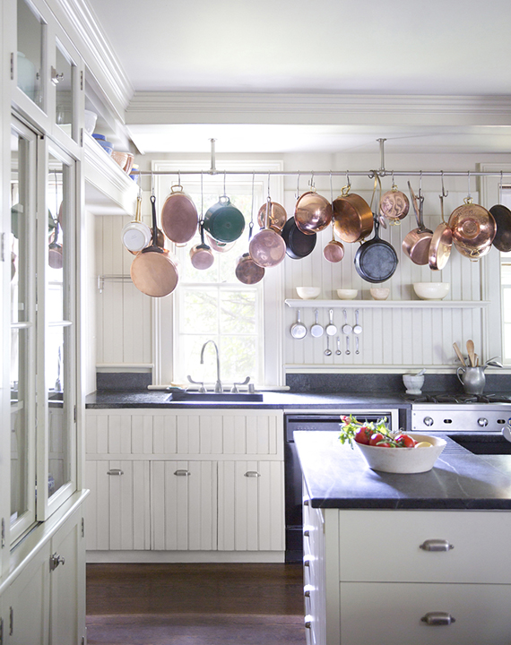 Pan and pot kitchen. Image by Brittany Ambridge.
