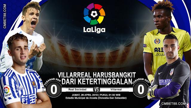 Prediksi Bola Real Sociedad VS Villarreal