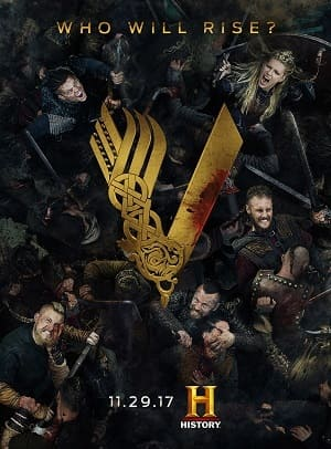 Vikings - 5ª Temporada Torrent 2017 Dublada 720p BDRip Bluray HD