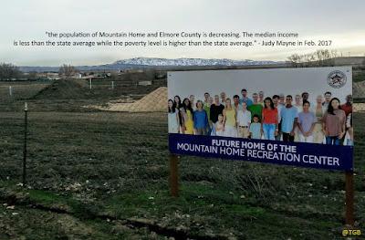 Mountain Home Idaho 2017 economic reality