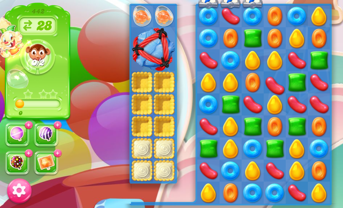 Candy Crush Jelly Saga 442