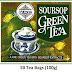 Mlesna Ceylon Soursop Pure Green Tea 50 Tea Bags 100g (3.52 Oz)
