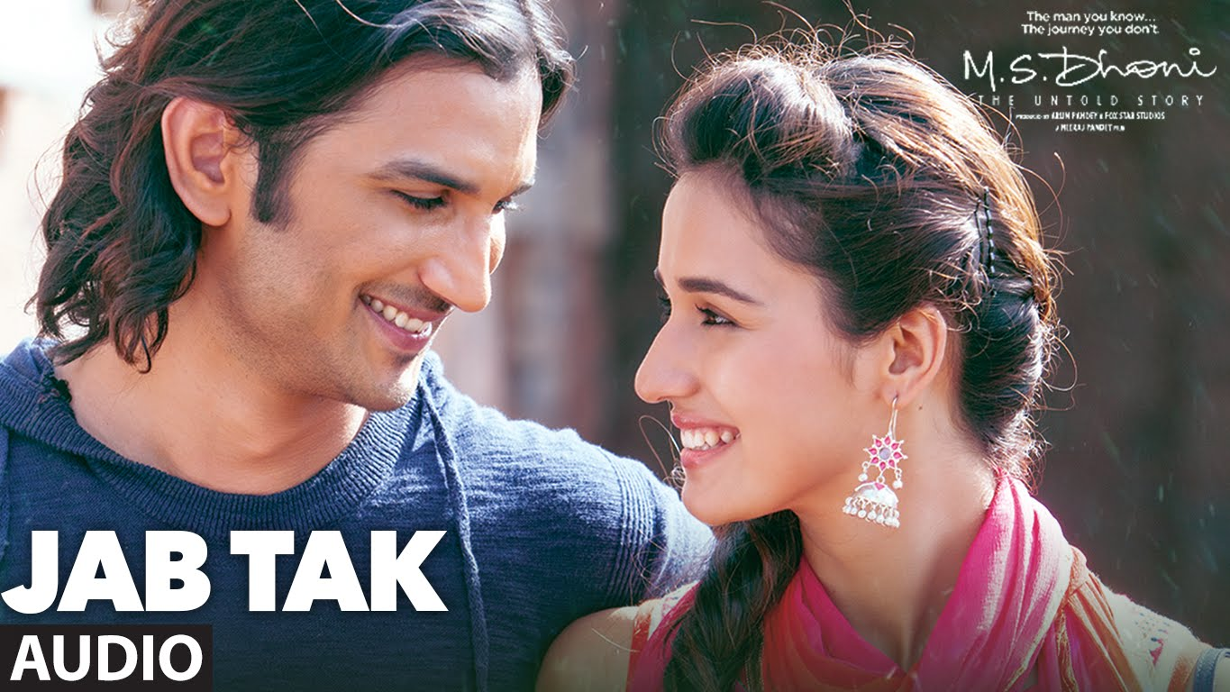The Jab Tak lyrics from 'MS Dhoni: The Untold Story', The song has been sung by Armaan Malik, , . featuring Sushant Singh Rajput, MS Dhoni, , . The music has been composed by Amaal Mallik, , . The lyrics of Jab Tak has been penned by Manoj Muntashir,
