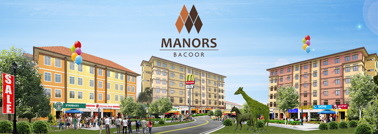 Community Overview - Manors Bacoor | Condominium for Sale in the Philippines