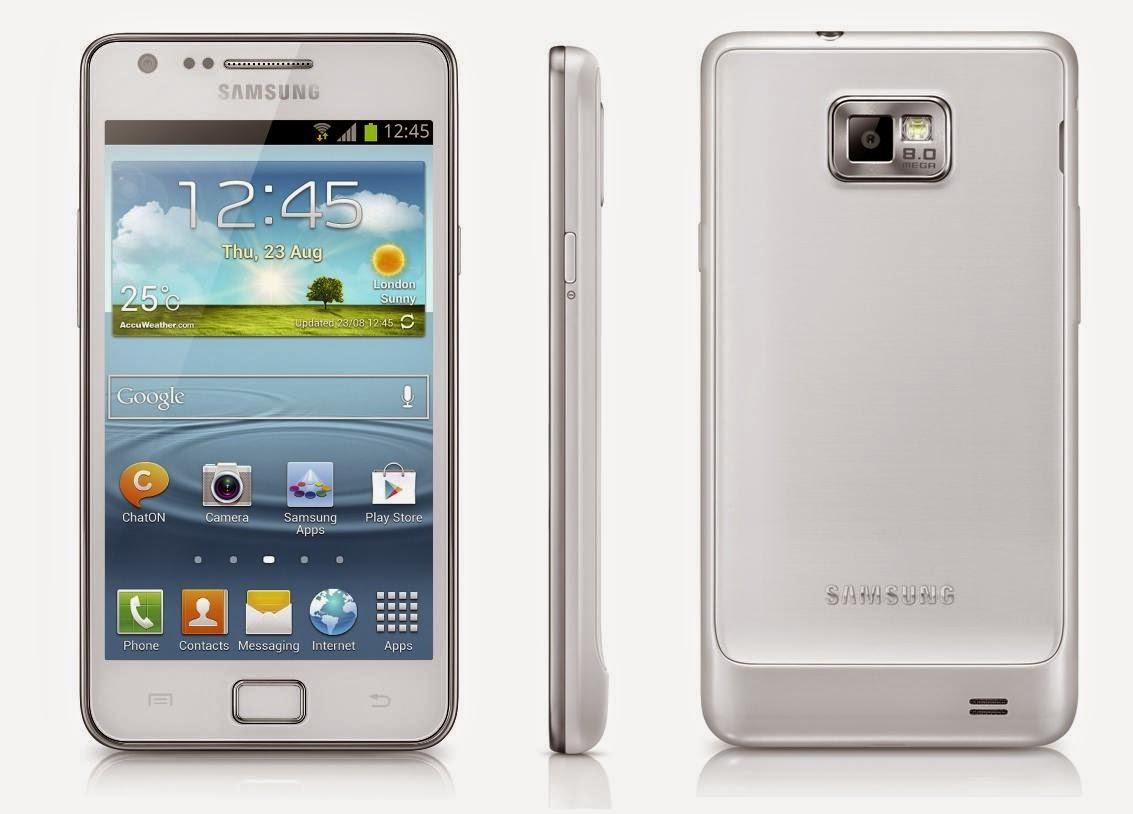 Samsung Galaxy I9100 Blanco