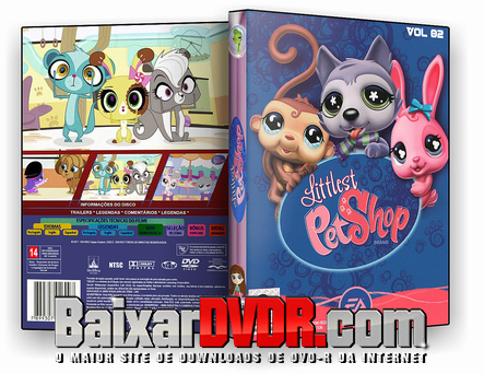 Little Pet Shop Vol. 2 (2017) DVD-R OFICIAL