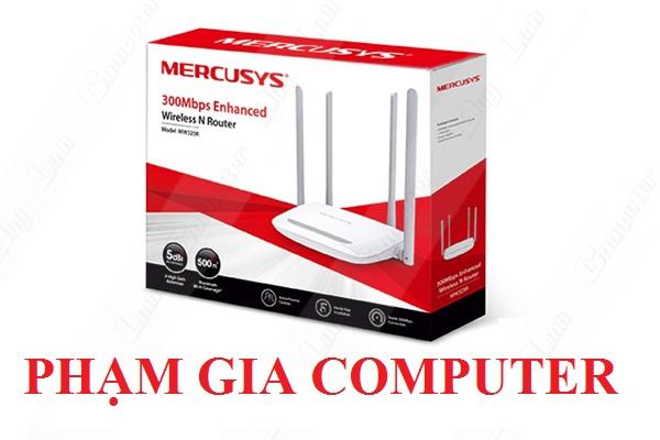 Bộ phát wifi không dây Mercusys MW325R 04 Râu