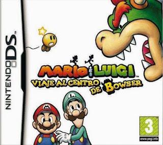 Mario y Luigi Viaje al Centro de Browser, NDS, Español, Mega, Mediafire