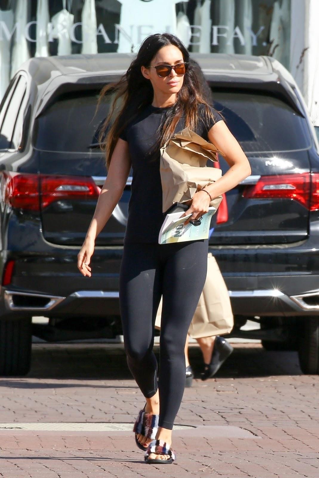 Megan Fox Leave After Yoga Class in Malibu