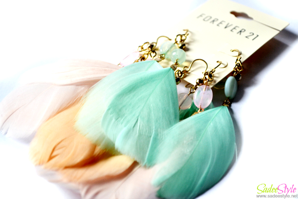 Trend of Feather Jewelry