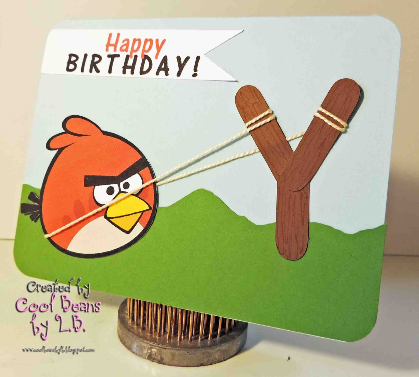 Cool Beans By L.B.: Angry Bird Happy Birthday