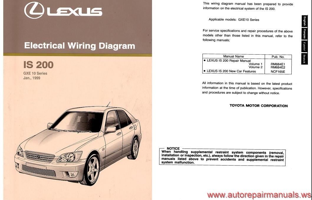 lexus is200 service manual how to and user guide instructions u2022 rh taxibermuda co lexus is200 service repair workshop manual 2000 Lexus Is200