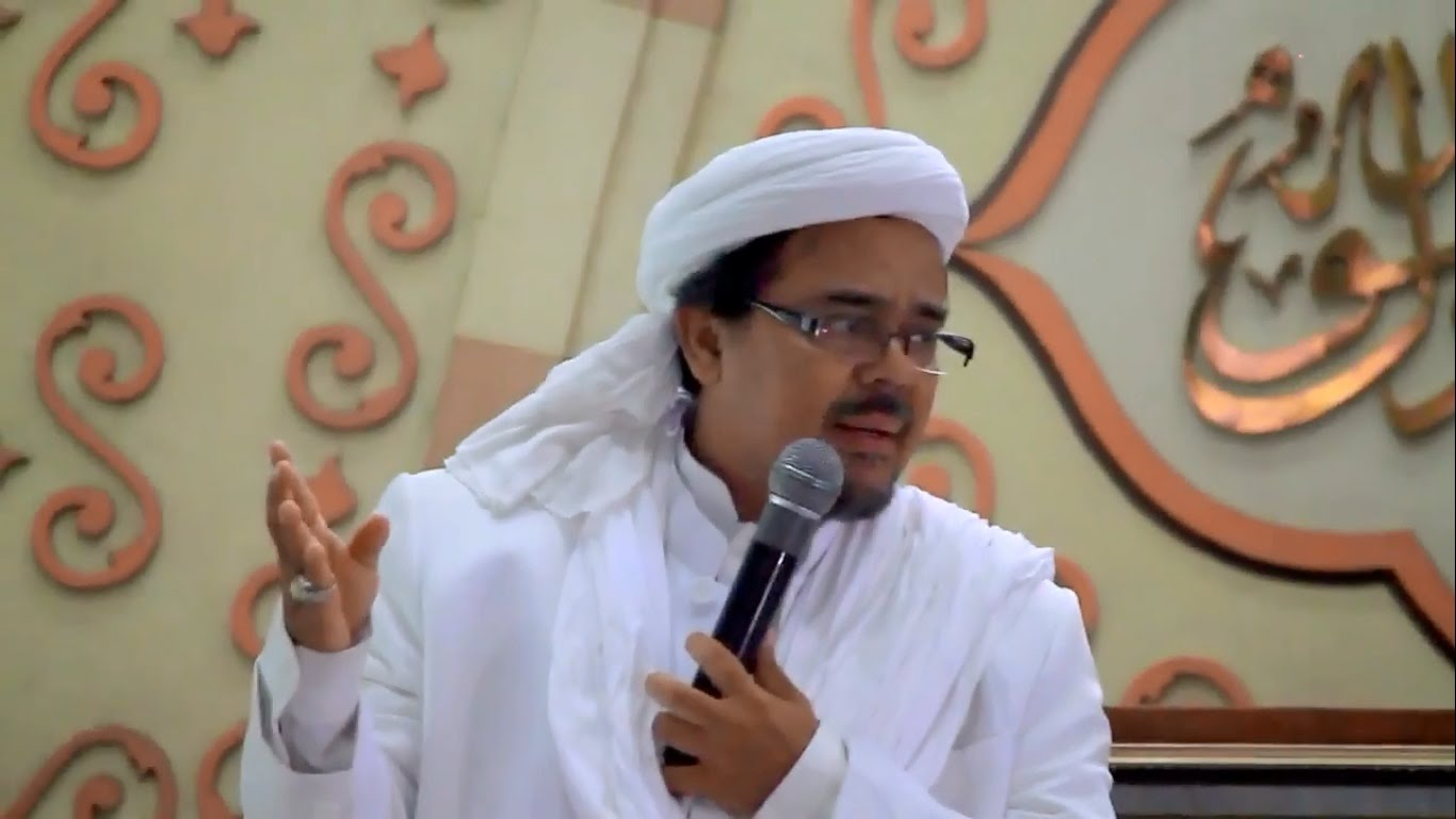 Habib Rizieq Dituding Pengecut, Ini Bantahan Keren Netizen