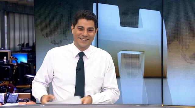 Será que o Evaristo Costa deixa a bancada do Jornal Hoje