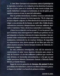 Gavazzo, libro de Haberkorn, Jaime Clara