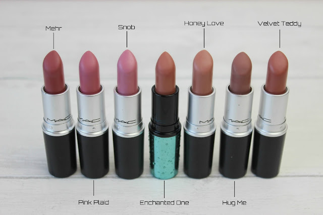 MAC Nude Lipsticks Review