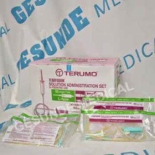 grosir selang infusion set terumo