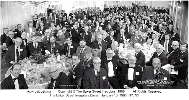 The 1986 BSI Dinner group photo