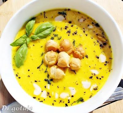 Zupa krem z kukurydzy (konserwowej)