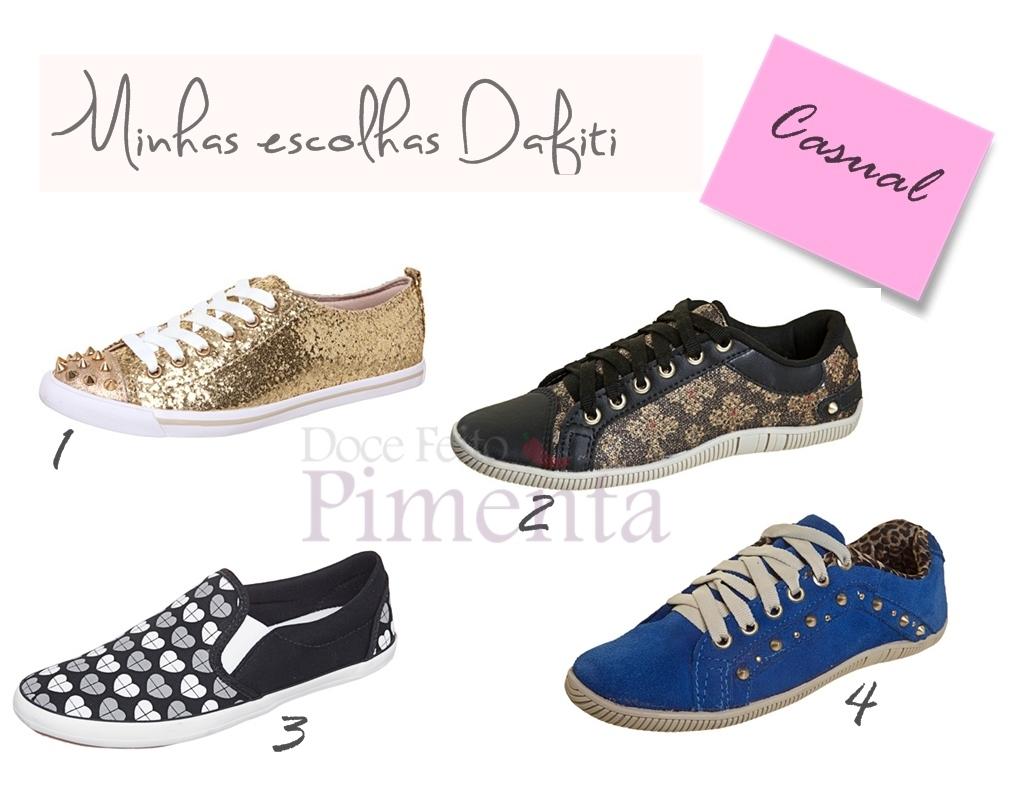 78e5fcb7705 Promoção Dafiti  Leve 4 sapatos por R 200 - Doce feito pimenta ...