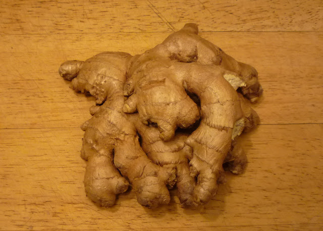 Organic root ginger