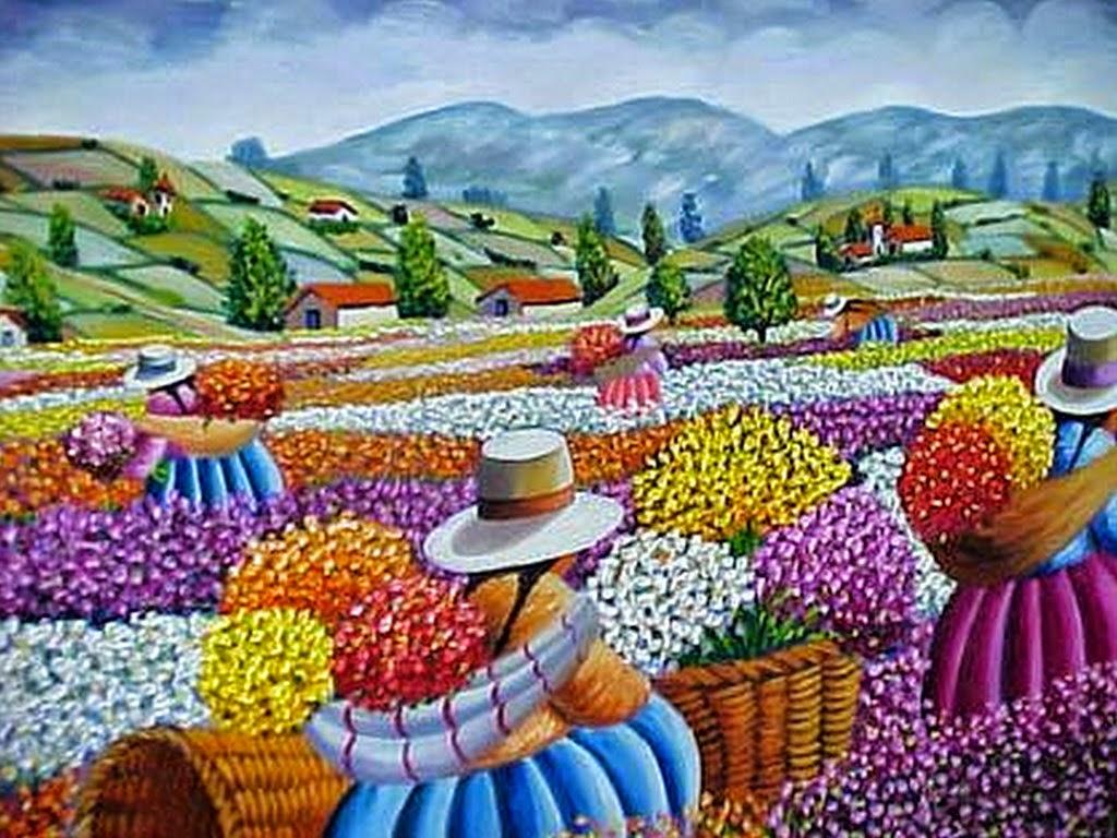 Cuadros modernos pinturas y dibujos coloridos cuadros de - Puzzles decorativos ...