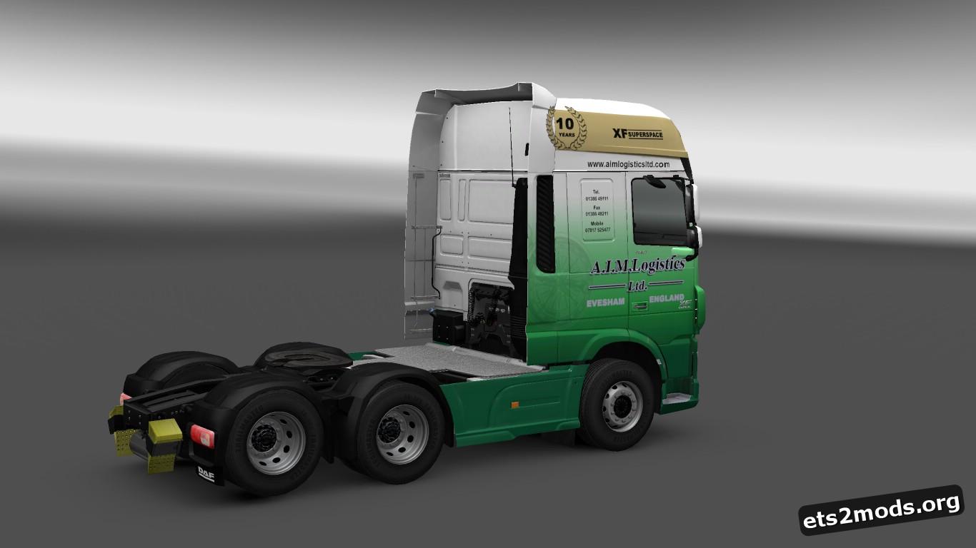 DAF Euro 6 A.I.M. Logistics Skin