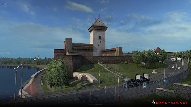 Euro Truck Simulator 2: Beyond The Baltic Sea Gameplay Screenshot 2