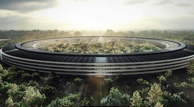 Apple Park é a futura sede da Apple Inc. em Cupertino, Califórnia.