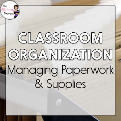 Is your classroom a mess? Does your desk look like a disaster area?During this week's #2ndaryELA Twitter chat middle and high school ELA teachers discussed how to organize the teacher desk, student supplies, paperwork, student work, and books. Read through the chat for ideas to implement in your own classroom.