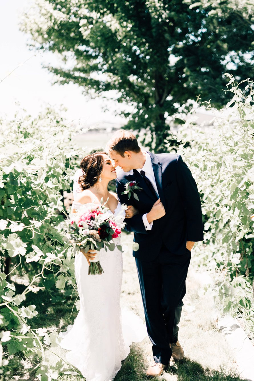 Washington Vineyard Wedding by Something Minted Photography