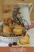 Великденски кръфини / Easter cruffins