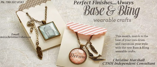 Perfect Finishes...Always: Base & Bling Wearable Crafts