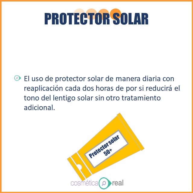 Lentigos solares tratamiento