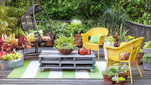 36แนวคิด กับการแต่งสวนพื้นที่แคบ ให้สวยและโดดเด่น