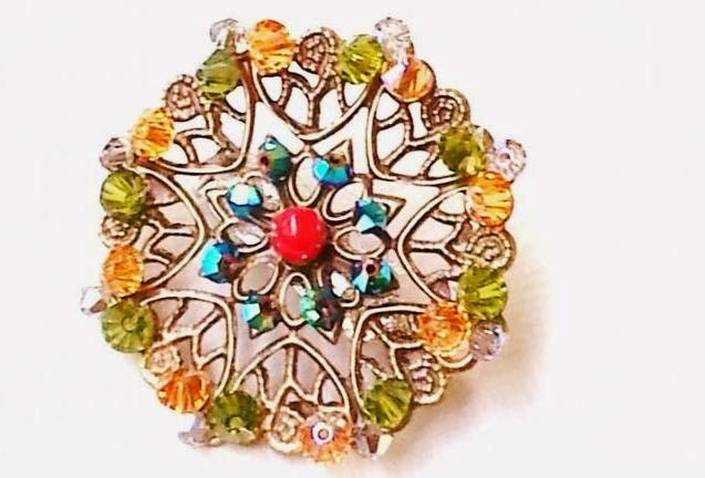 broche art deco