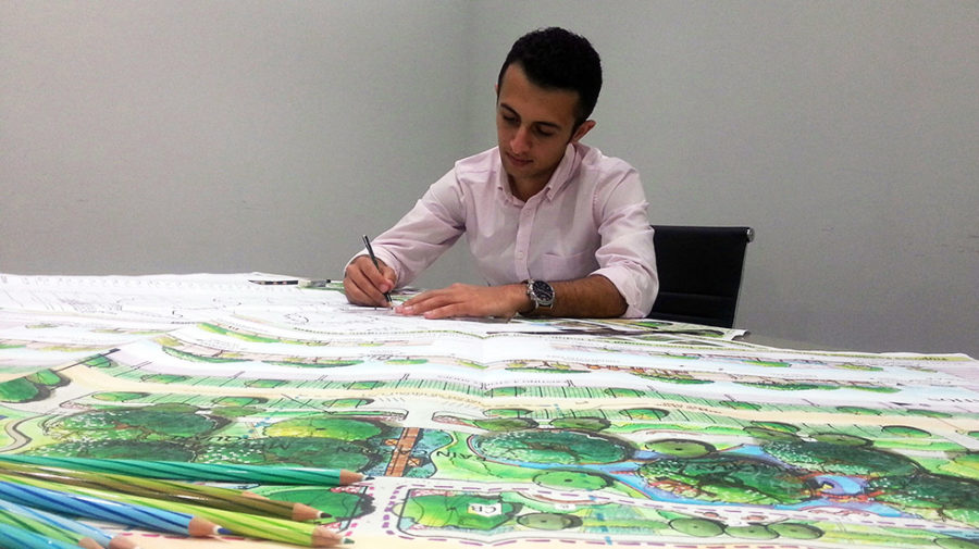Sarjana Muda Seni Bina Landskap Iukl Intake Infrastructure University Kuala Lumpur