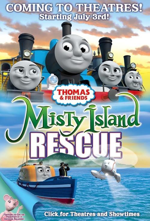 Tomas și prietenii săi Aventura pe insula ceții