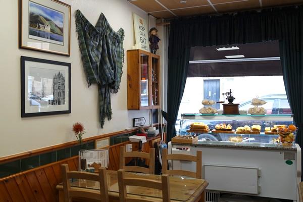 écosse scotland helensburgh craigard tea room afternoon