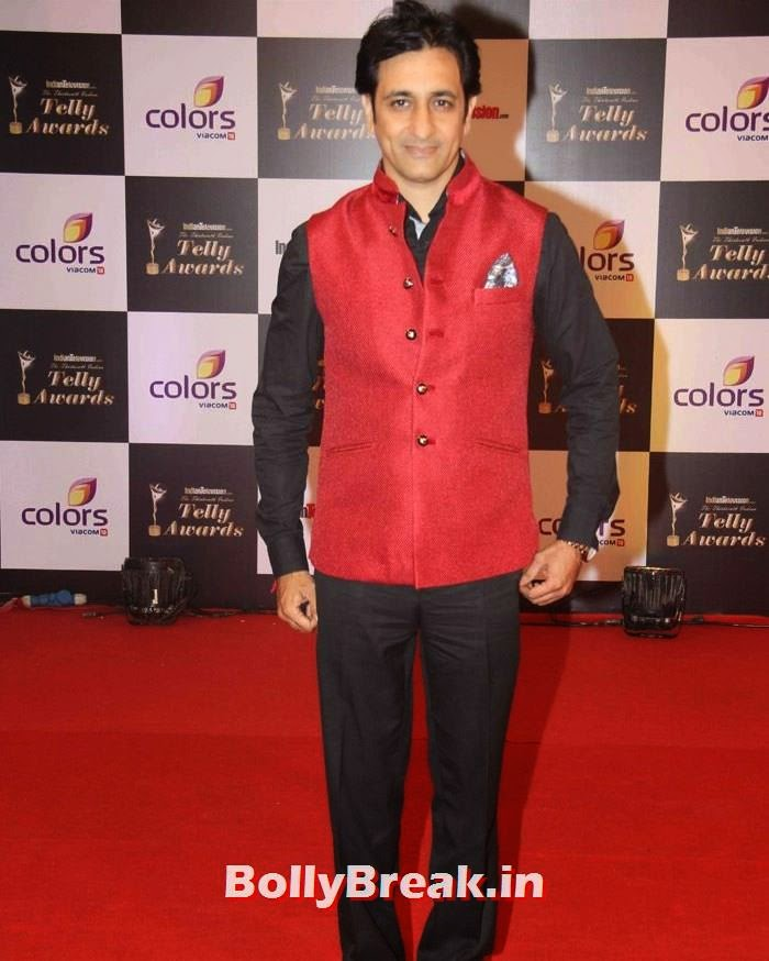 13th Indian Telly Awards, Pics on Red Carpet of 13th Indian Telly Awards 2014