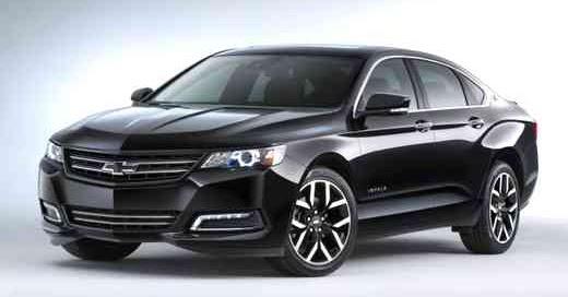 chevy impala concept cars authority